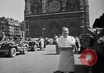 Image of Allied soldiers Paris France, 1944, second 36 stock footage video 65675071134