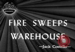 Image of Lee Brothers Warehouse fire New York City New York City USA, 1945, second 1 stock footage video 65675071148