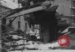 Image of US Soldiers examine damaged US M4 and German Panther tank Sterpigny Belgium, 1945, second 30 stock footage video 65675071156