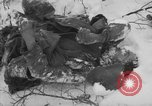 Image of Bodies of dead German soldiers in snow Ambleve Belgium, 1945, second 9 stock footage video 65675071159