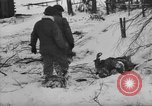 Image of Bodies of dead German soldiers in snow Ambleve Belgium, 1945, second 13 stock footage video 65675071159