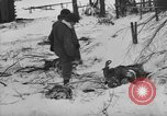 Image of Bodies of dead German soldiers in snow Ambleve Belgium, 1945, second 16 stock footage video 65675071159