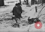 Image of Bodies of dead German soldiers in snow Ambleve Belgium, 1945, second 17 stock footage video 65675071159