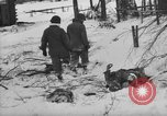 Image of Bodies of dead German soldiers in snow Ambleve Belgium, 1945, second 19 stock footage video 65675071159