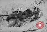 Image of Bodies of dead German soldiers in snow Ambleve Belgium, 1945, second 35 stock footage video 65675071159