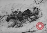 Image of Bodies of dead German soldiers in snow Ambleve Belgium, 1945, second 36 stock footage video 65675071159
