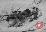 Image of Bodies of dead German soldiers in snow Ambleve Belgium, 1945, second 38 stock footage video 65675071159
