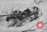 Image of Bodies of dead German soldiers in snow Ambleve Belgium, 1945, second 40 stock footage video 65675071159