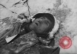 Image of Bodies of dead German soldiers in snow Ambleve Belgium, 1945, second 54 stock footage video 65675071159