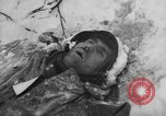 Image of Bodies of dead German soldiers in snow Ambleve Belgium, 1945, second 56 stock footage video 65675071159