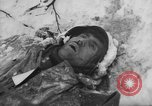 Image of Bodies of dead German soldiers in snow Ambleve Belgium, 1945, second 57 stock footage video 65675071159
