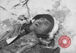 Image of Bodies of dead German soldiers in snow Ambleve Belgium, 1945, second 58 stock footage video 65675071159
