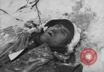 Image of Bodies of dead German soldiers in snow Ambleve Belgium, 1945, second 59 stock footage video 65675071159