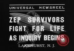 Image of Hindenburg crash New Jersey United States USA, 1937, second 4 stock footage video 65675071175