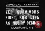 Image of Hindenburg crash New Jersey United States USA, 1937, second 5 stock footage video 65675071175