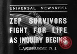 Image of Hindenburg crash New Jersey United States USA, 1937, second 7 stock footage video 65675071175