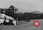 Image of Hindenburg crash New Jersey United States USA, 1937, second 51 stock footage video 65675071175