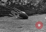 Image of Hindenburg crash New Jersey United States USA, 1937, second 53 stock footage video 65675071175