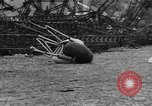 Image of Hindenburg crash New Jersey United States USA, 1937, second 54 stock footage video 65675071175