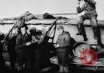 Image of German and Hungarian troops joining forces Ukraine, 1941, second 26 stock footage video 65675071183