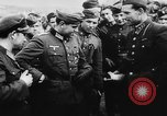Image of German and Hungarian troops joining forces Ukraine, 1941, second 43 stock footage video 65675071183