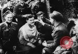 Image of German and Hungarian troops joining forces Ukraine, 1941, second 45 stock footage video 65675071183