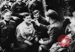 Image of German and Hungarian troops joining forces Ukraine, 1941, second 46 stock footage video 65675071183