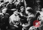 Image of German and Hungarian troops joining forces Ukraine, 1941, second 47 stock footage video 65675071183