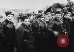 Image of German and Hungarian troops joining forces Ukraine, 1941, second 48 stock footage video 65675071183