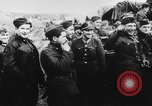 Image of German and Hungarian troops joining forces Ukraine, 1941, second 49 stock footage video 65675071183