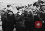 Image of German and Hungarian troops joining forces Ukraine, 1941, second 50 stock footage video 65675071183