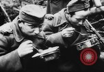 Image of German and Hungarian troops joining forces Ukraine, 1941, second 51 stock footage video 65675071183