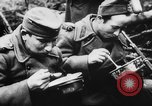 Image of German and Hungarian troops joining forces Ukraine, 1941, second 52 stock footage video 65675071183