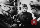 Image of German and Hungarian troops joining forces Ukraine, 1941, second 54 stock footage video 65675071183