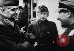 Image of German and Hungarian troops joining forces Ukraine, 1941, second 55 stock footage video 65675071183