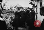 Image of German and Hungarian troops joining forces Ukraine, 1941, second 58 stock footage video 65675071183