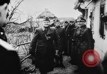 Image of German and Hungarian troops joining forces Ukraine, 1941, second 59 stock footage video 65675071183