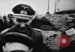 Image of German and Hungarian troops joining forces Ukraine, 1941, second 61 stock footage video 65675071183