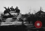Image of German and Hungarian troops joining forces Ukraine, 1941, second 62 stock footage video 65675071183