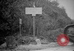 Image of Renault FT tank runs down a street sign Western Front, 1918, second 4 stock footage video 65675071196