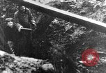 Image of German soldiers in trenches Europe, 1916, second 4 stock footage video 65675071210