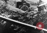 Image of German soldiers in trenches Europe, 1916, second 10 stock footage video 65675071210