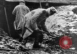 Image of German soldiers in trenches Europe, 1916, second 12 stock footage video 65675071210
