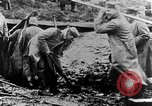 Image of German soldiers in trenches Europe, 1916, second 22 stock footage video 65675071210