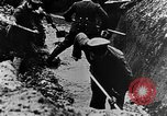 Image of German soldiers in trenches Europe, 1916, second 27 stock footage video 65675071210