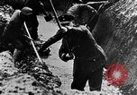Image of German soldiers in trenches Europe, 1916, second 28 stock footage video 65675071210