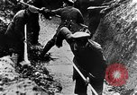Image of German soldiers in trenches Europe, 1916, second 29 stock footage video 65675071210
