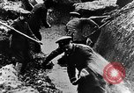 Image of German soldiers in trenches Europe, 1916, second 32 stock footage video 65675071210