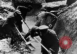 Image of German soldiers in trenches Europe, 1916, second 33 stock footage video 65675071210
