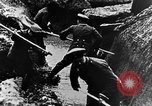 Image of German soldiers in trenches Europe, 1916, second 34 stock footage video 65675071210